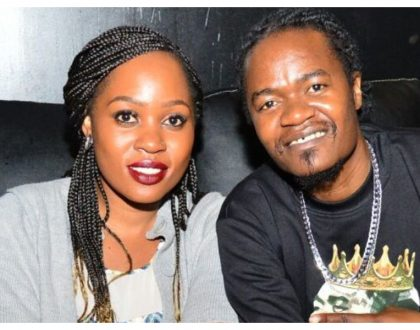"""F@ck you"" Jua Cali's wife wards off Facebook woman seeking dirt on her husband"