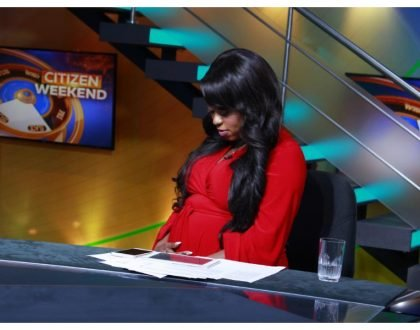 Lillian Muli:I have not had any complications so far, neither have I had morning sickness