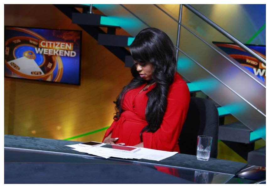 Lillian Muli: I have not had any complications so far, neither have I had morning sickness