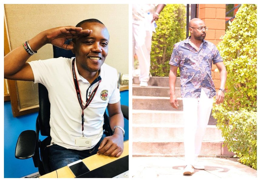 """You leave a wonderful son and a mom who doted on you"" Maina Kageni eulogizes his late cousin John Macharia"