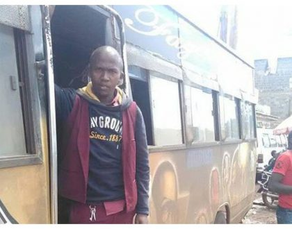 More blessings! Honest matatu conductor smiles all the way to the bank as he receives 6 figure pay