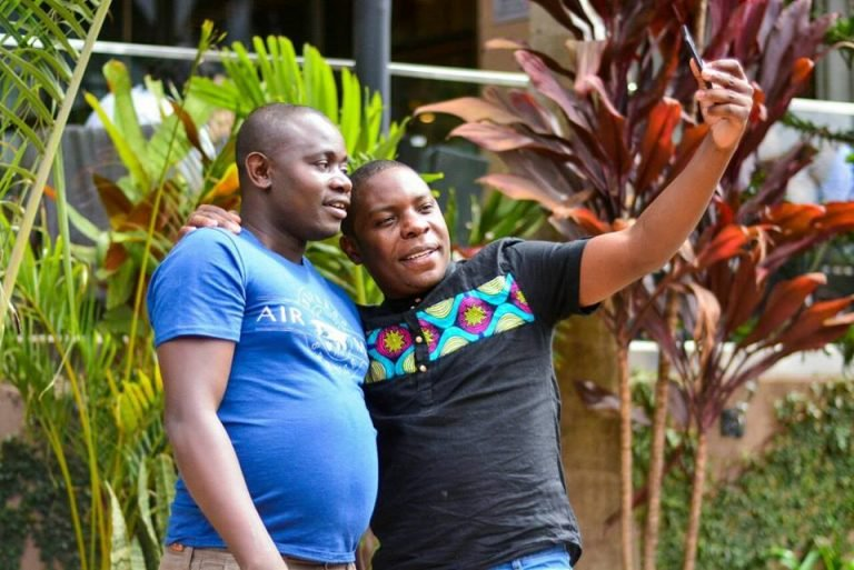 SportPesa Mega Jackpot winners Gordon Ogada and Samuel Abisai