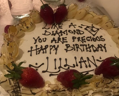 Here's how a pregrant Lilian Muli celebrated her birthday(Photos)