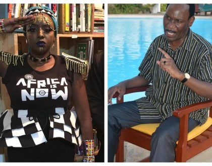 Muthoni Drummer Queen goes ballistic on Ezekiel Mutua