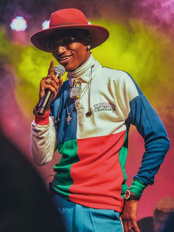 Octopizzo steps in one of the biggest arenas in the world(photo)