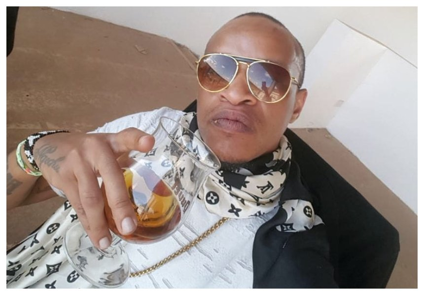 Prezzo hints he has stopped drinking alcohol years after frustrating Betty Kyallo live on KTN