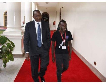 President Uhuru's son admits to smoking weed, denies being a womanizer