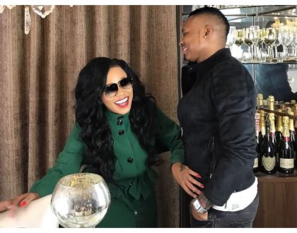 """I will soon make it a reality"" Otile Brown speaks of impregnating Vera Sidika"