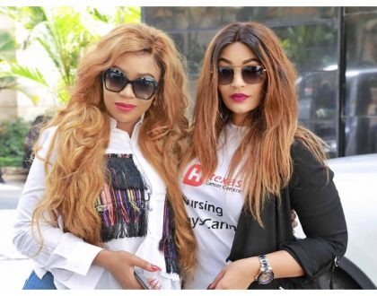 Vera Sidika and Zari Hassan wow the internet with sismance (Photos)