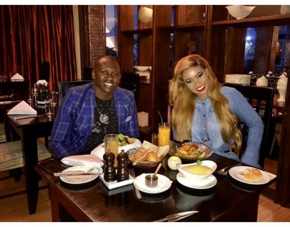 """He's such a humble guy"" Vera Sidika speaks after going out on a date with super fan Brian Kibet (Photos)"
