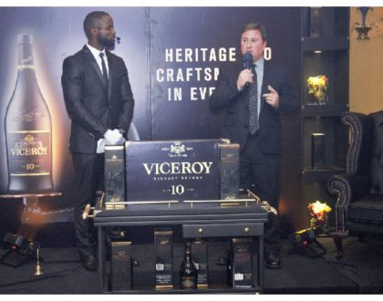 Viceroy 10 which waslaunched last year in Kenya awarded world's best brandy