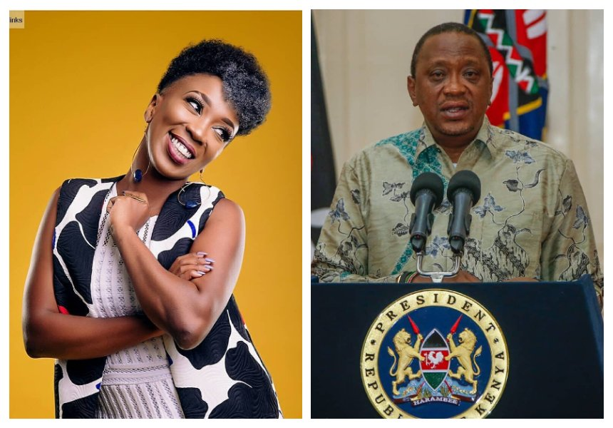 Wahu offers president Uhuru tips to fight corruption