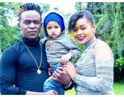 Willy Paul introduces his baby mama and son, or is it just another publicity stunt? (Photos)