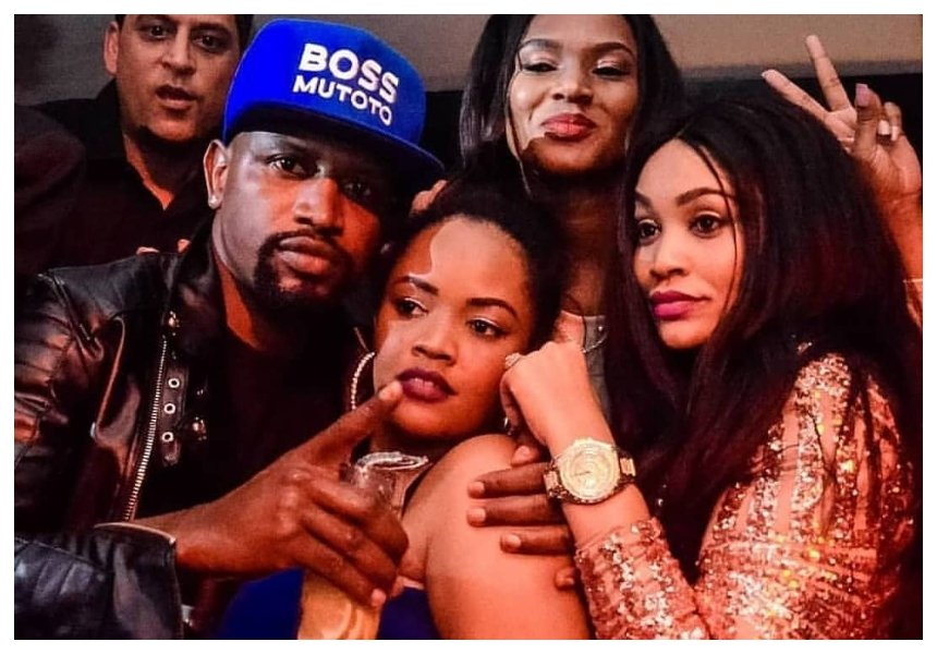 Baby daddy still the best singer! Zari and her sisterZuleha Hassan caught on camera dancing to Diamond's hit song