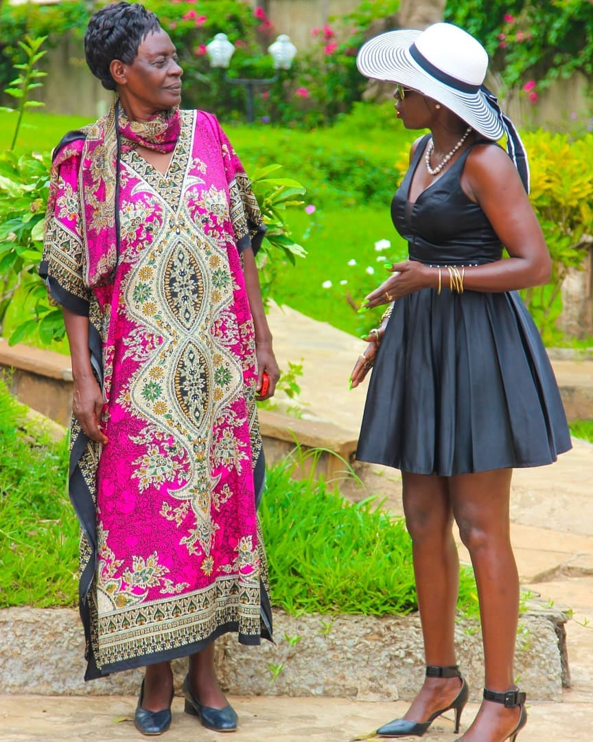 Akothee sends beautiful message to her mother on Mother's Day
