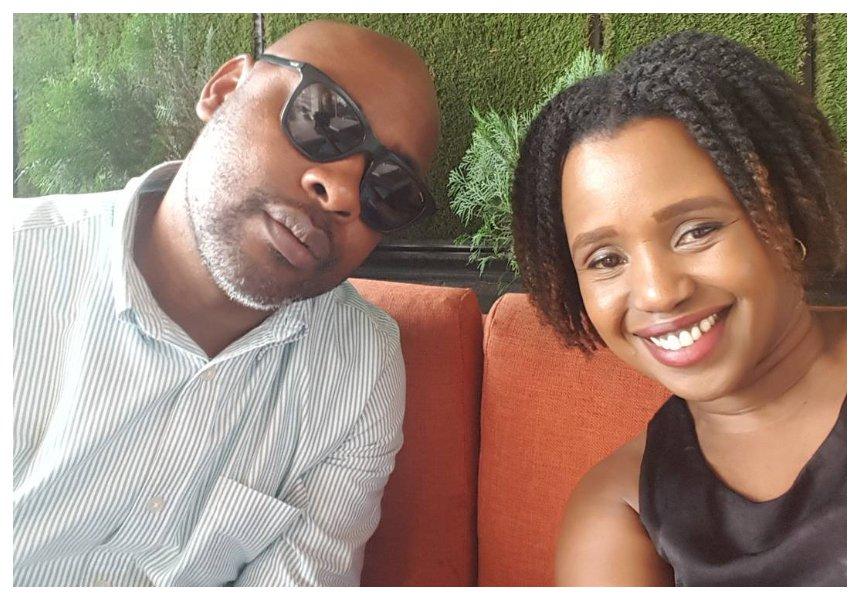 Amani with her husband Chinasa Udeala