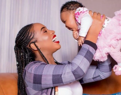 Bahati, Marua finally unveil daughter's face, she so cute (photos)