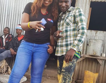 No, it's not Bonoko's Kibanda food! Betty Kyalo finally reveals what left her hospitalized