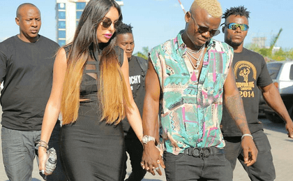 Harmonize's fiancée responds after being dumped on live TV