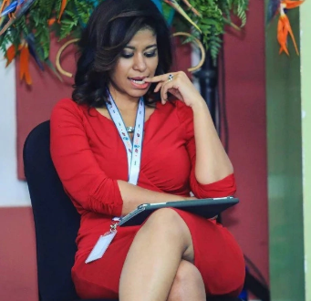 This new sexy photo from 45-year-old Julie Gichuru will leaving you thinking she's way younger than Natalia Tewa