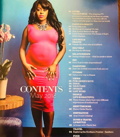 Pregnant Lilian Muli graces True Love's cover and you will totally love it (photos)