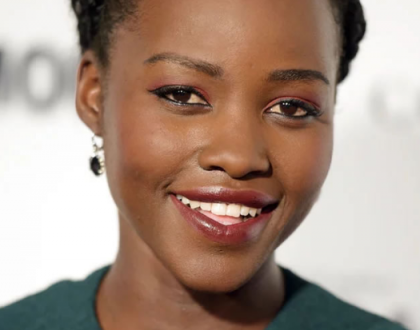 Lupita Nyong'o sneaks into the country tours Kisumu but under tight security
