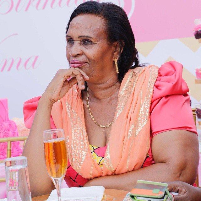 Wema Sepetu's mother Miriam Sepetu