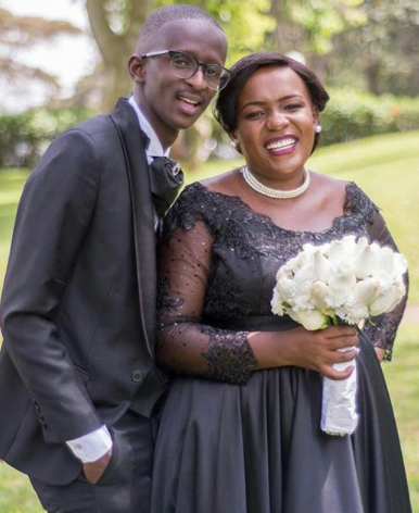 Njugush sends lovely message to wife as she turns 27