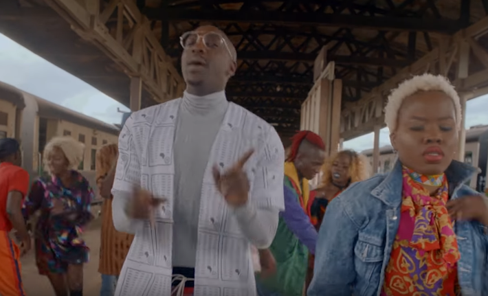 "Sauti Sol and Nyashinski finally release their new video ""Short N Sweet"""