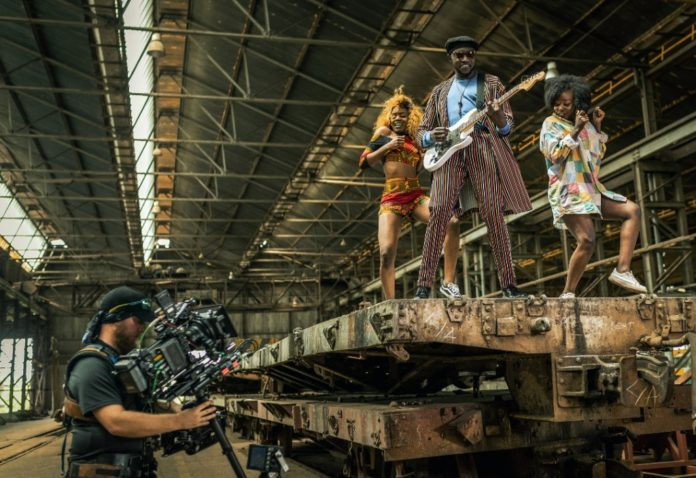 Behind the scenes: Sauti Sol team up with Nyashinski for new song