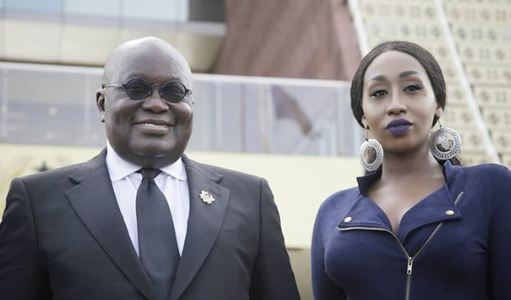 What Victoria Kimani had to say after meeting Ghana's president