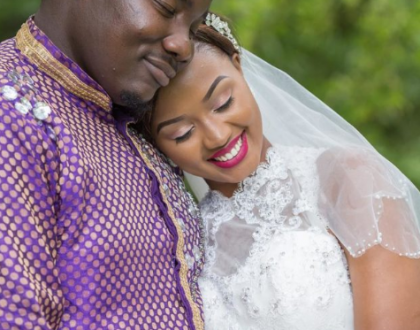 Pure Love! Here's how Willies Raburu and wife celebrated their first anniversary