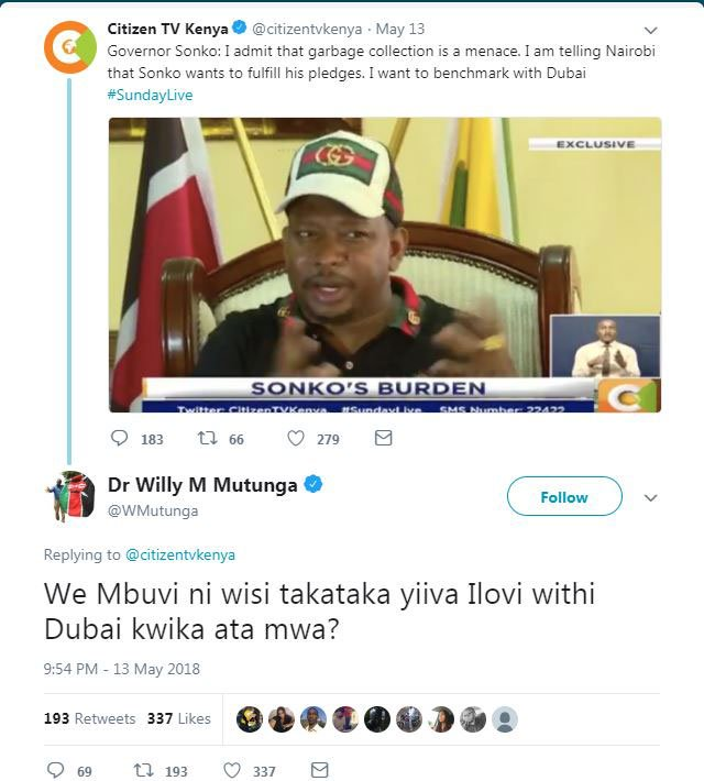 Mike Sonko appoints Miguna Miguna deputy governor