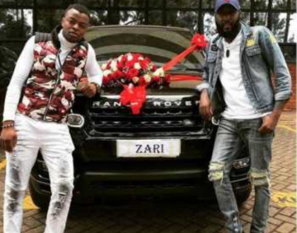 Zari to Ringtone: Donate that Range Rover to Hamisa Mobetto, she has an old one