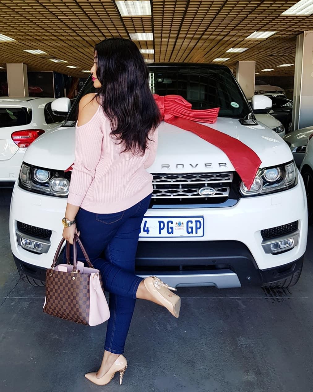 Zari Hassan flaunts her new Range Rover