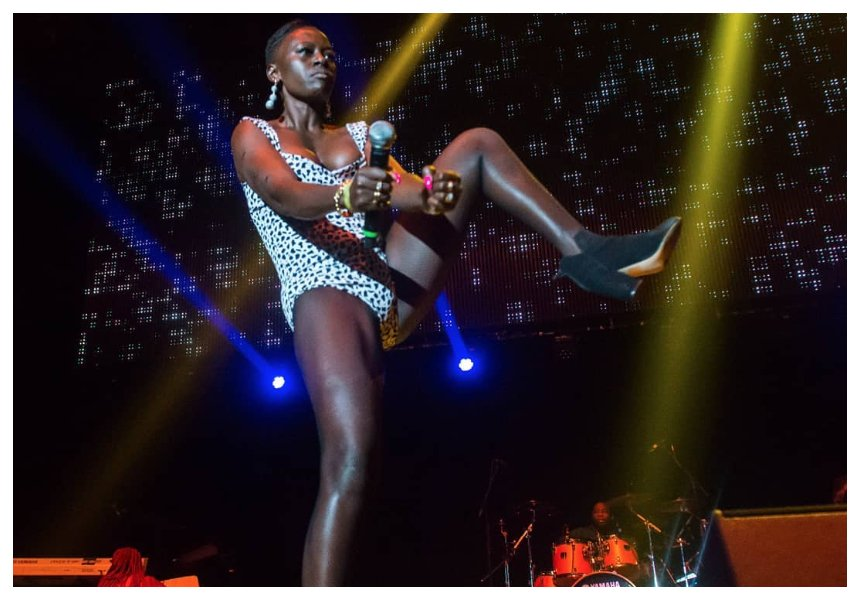"""""""Am as black as charcoal & you can't do shit about it"""" Akothee reacts after her dark thighs are compared to Beyonce's"""