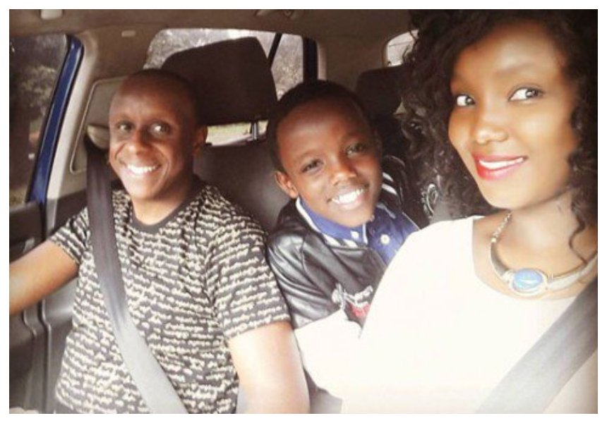 """Please go to high school, we are busy making your sister!"" Catherine Kamau tells son as he celebrates 13th birthday"