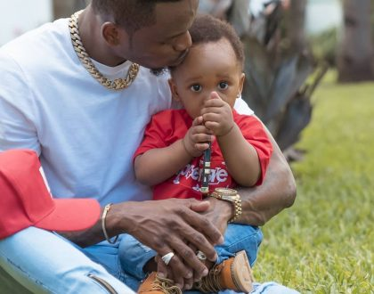 After unfollowing Tiffah and Nillan, Diamond Platnumz continues to shower his last born with love on social media