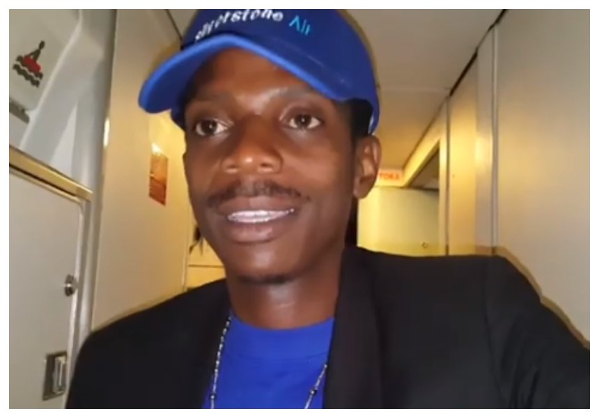 Eric Omondi's brother dies a few hours after being introduced by the comedian