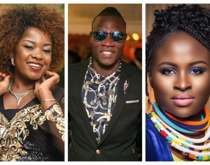 Fast rising gospel singer Guardian Angel battles it out with Gloria Muliro and Mercy Masika for Groove Awards' most prestigious prize