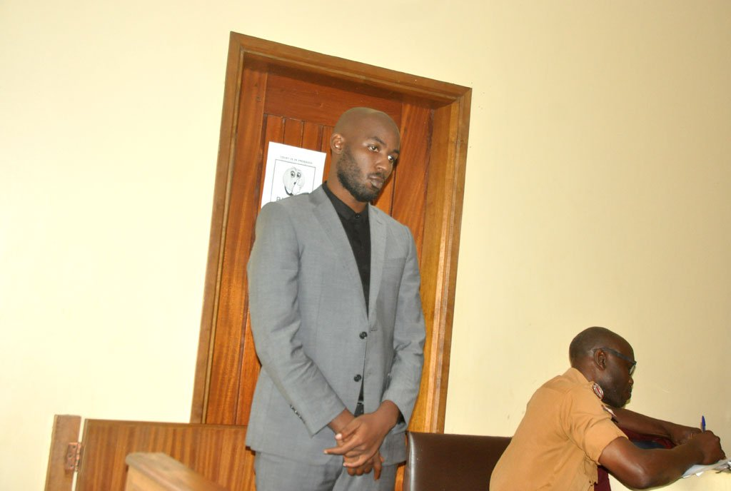 Godfrey Wamala in court