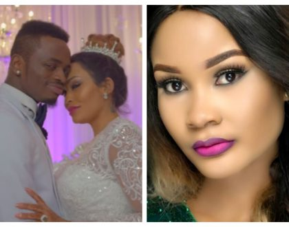 """""""Naandamwa na kukaliwa mie kooni!"""" Hamisa Mobetto reacts to Diamond and Zari's fake wedding"""