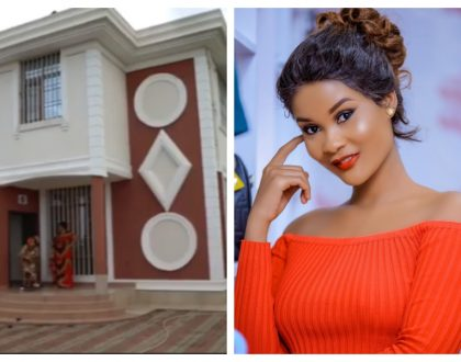 Hamisa Mobetto sends obnoxious message to people concerned about why Diamond bought her a house