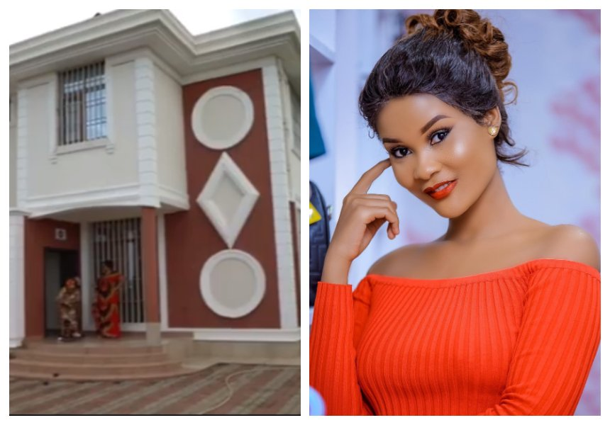 Hamisa Mobetto sendsobnoxious message to people concerned about why Diamond bought her a house