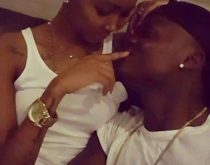 Huddah on intimate, cozy video with Harmonize: He's just a friend