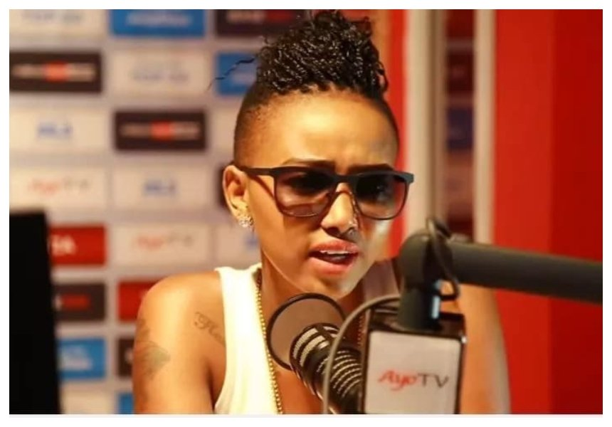 """I adopted the baby because I feel like kids are very fragile"" Huddah Monroe opens up about her adopted daughter"