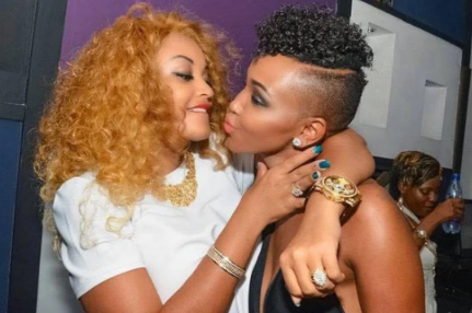 Snake!! Is this Huddah trying to apologize to Zari after allegedly sleeping with Diamond?