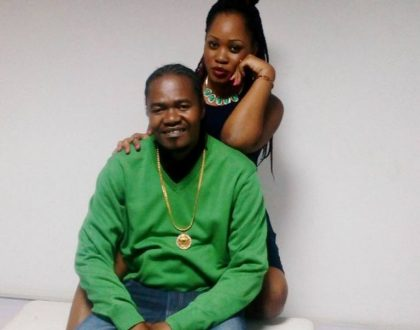 Jua Cali's wife tattoos his name on her back and shares on social media(Photo)