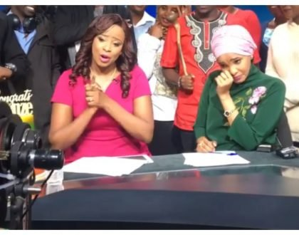 Lulu Hassan sheds tears as her BFF Kanze Dena finally leaves Citizen TV (Video)