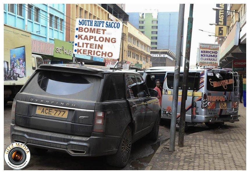 Eyesore! Propesa turnsRonald Karauri's Kes 25 million Range Rover into a matatu